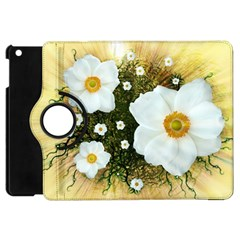 Summer Anemone Sylvestris Apple Ipad Mini Flip 360 Case