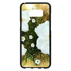 Summer Anemone Sylvestris Samsung Galaxy S8 Plus Black Seamless Case