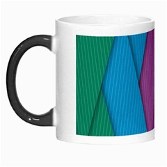 Abstract Background Colorful Strips Morph Mugs by Nexatart
