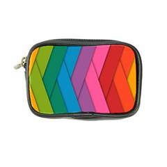 Abstract Background Colorful Strips Coin Purse by Nexatart