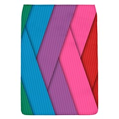 Abstract Background Colorful Strips Flap Covers (s)  by Nexatart