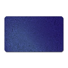 Fractal Rendering Background Blue Magnet (rectangular)