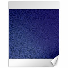 Fractal Rendering Background Blue Canvas 12  X 16   by Nexatart