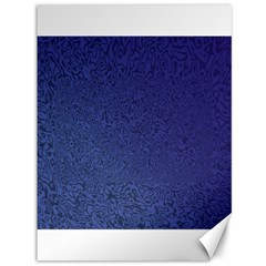 Fractal Rendering Background Blue Canvas 36  X 48   by Nexatart