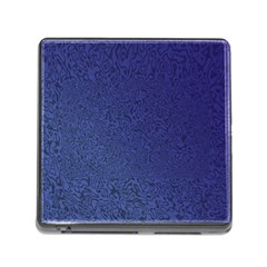 Fractal Rendering Background Blue Memory Card Reader (square) by Nexatart