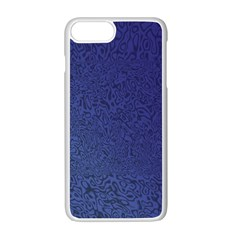 Fractal Rendering Background Blue Apple Iphone 7 Plus Seamless Case (white) by Nexatart