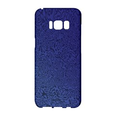 Fractal Rendering Background Blue Samsung Galaxy S8 Hardshell Case