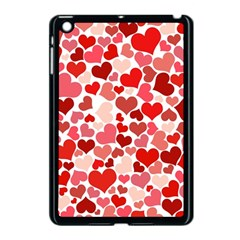 Abstract Background Decoration Hearts Love Apple Ipad Mini Case (black) by Nexatart