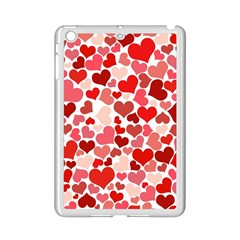 Abstract Background Decoration Hearts Love Ipad Mini 2 Enamel Coated Cases