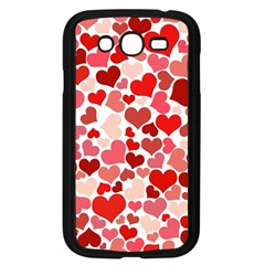 Abstract Background Decoration Hearts Love Samsung Galaxy Grand Duos I9082 Case (black)