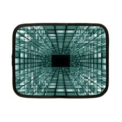 Abstract Perspective Background Netbook Case (small)