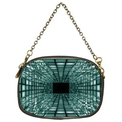Abstract Perspective Background Chain Purses (one Side)