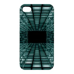 Abstract Perspective Background Apple Iphone 4/4s Premium Hardshell Case