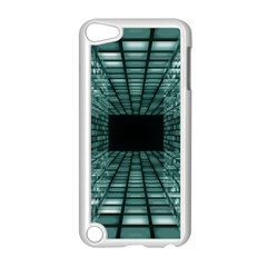 Abstract Perspective Background Apple Ipod Touch 5 Case (white)
