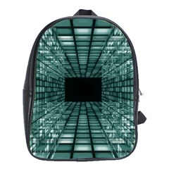 Abstract Perspective Background School Bag (xl) by Nexatart