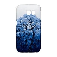 Nature Inspiration Trees Blue Samsung Galaxy S6 Edge Hardshell Case