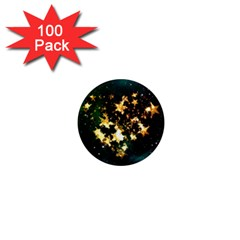 Heart Love Universe Space All Sky 1  Mini Magnets (100 Pack)