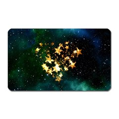 Heart Love Universe Space All Sky Magnet (rectangular) by Nexatart
