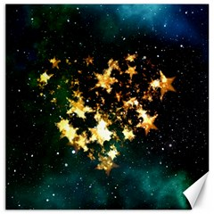 Heart Love Universe Space All Sky Canvas 12  X 12   by Nexatart