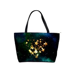 Heart Love Universe Space All Sky Shoulder Handbags