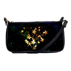 Heart Love Universe Space All Sky Shoulder Clutch Bags by Nexatart