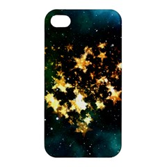 Heart Love Universe Space All Sky Apple Iphone 4/4s Premium Hardshell Case