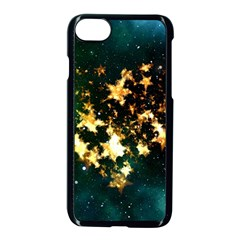 Heart Love Universe Space All Sky Apple Iphone 7 Seamless Case (black)