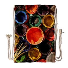 Color Box Colorful Art Artwork Drawstring Bag (large) by Nexatart
