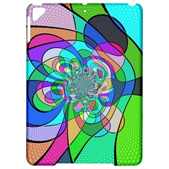 Retro Wave Background Pattern Apple Ipad Pro 9 7   Hardshell Case by Nexatart