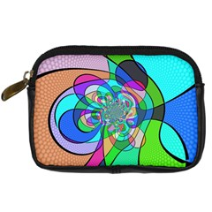 Retro Wave Background Pattern Digital Camera Cases