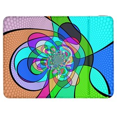Retro Wave Background Pattern Samsung Galaxy Tab 7  P1000 Flip Case