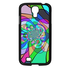 Retro Wave Background Pattern Samsung Galaxy S4 I9500/ I9505 Case (black)