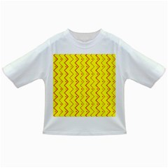 Yellow Background Abstract Infant/toddler T Shirts