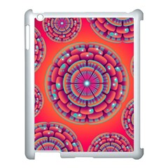 Floral Background Texture Pink Apple Ipad 3/4 Case (white) by Nexatart