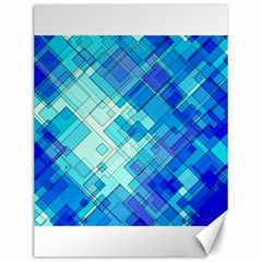 Abstract Squares Arrangement Canvas 12  X 16   by Nexatart