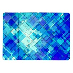 Abstract Squares Arrangement Samsung Galaxy Tab 10 1  P7500 Flip Case by Nexatart