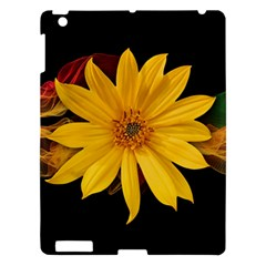 Sun Flower Blossom Bloom Particles Apple Ipad 3/4 Hardshell Case
