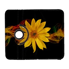 Sun Flower Blossom Bloom Particles Samsung Galaxy S  Iii Flip 360 Case