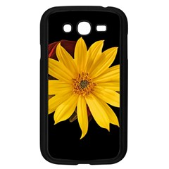 Sun Flower Blossom Bloom Particles Samsung Galaxy Grand Duos I9082 Case (black)