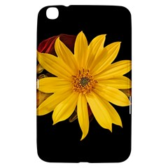 Sun Flower Blossom Bloom Particles Samsung Galaxy Tab 3 (8 ) T3100 Hardshell Case  by Nexatart