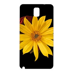 Sun Flower Blossom Bloom Particles Samsung Galaxy Note 3 N9005 Hardshell Back Case