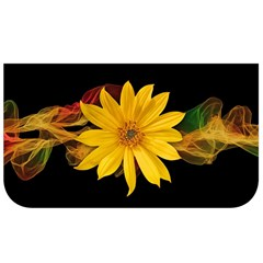 Sun Flower Blossom Bloom Particles Lunch Bag