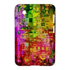 Color Abstract Artifact Pixel Samsung Galaxy Tab 2 (7 ) P3100 Hardshell Case