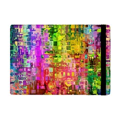 Color Abstract Artifact Pixel Ipad Mini 2 Flip Cases by Nexatart