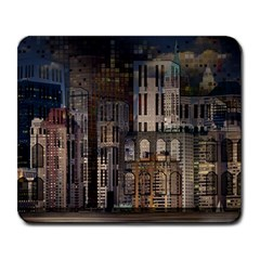 Architecture City Home Window Large Mousepads