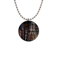 Architecture City Home Window Button Necklaces by Nexatart