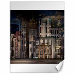 Architecture City Home Window Canvas 36  X 48   by Nexatart