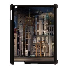 Architecture City Home Window Apple Ipad 3/4 Case (black) by Nexatart