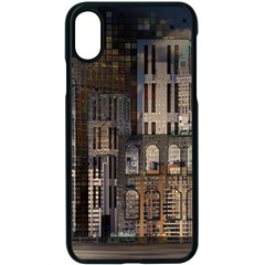 Architecture City Home Window Apple Iphone X Seamless Case (black)