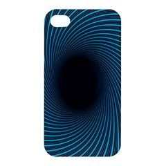 Background Spiral Abstract Pattern Apple Iphone 4/4s Premium Hardshell Case